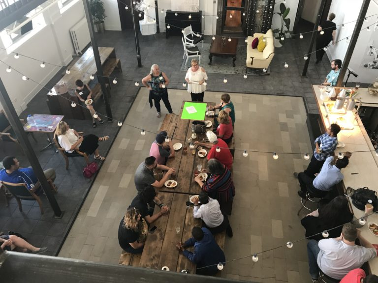 grassroots vibe in your community